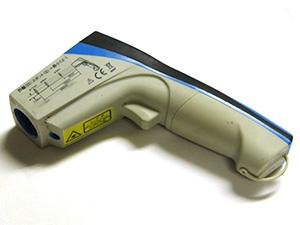 防水放射温度計